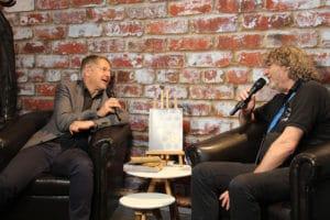 Lichtdesigner Martin Kuhn im Interview mit PRODUCTION PARTNER-Chefredakteur Walter Wehrhan