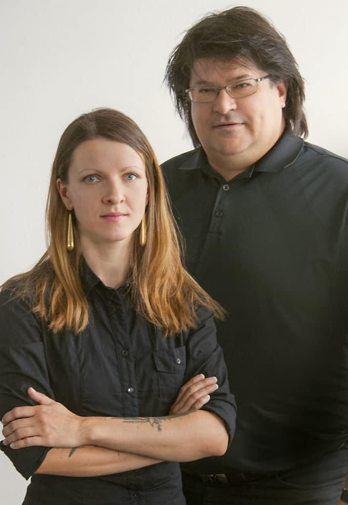 Susanne Fritzsch und Marcus Pohl vom ISDV