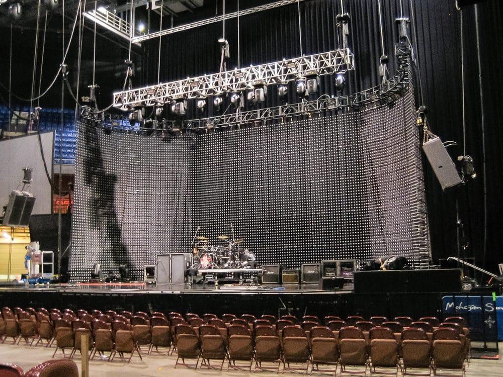 Bühne der Stone Temple Pilots