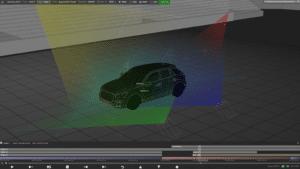 Screenshot der d3 Software
