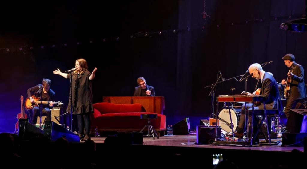 Annett Louisan auf der Bühne