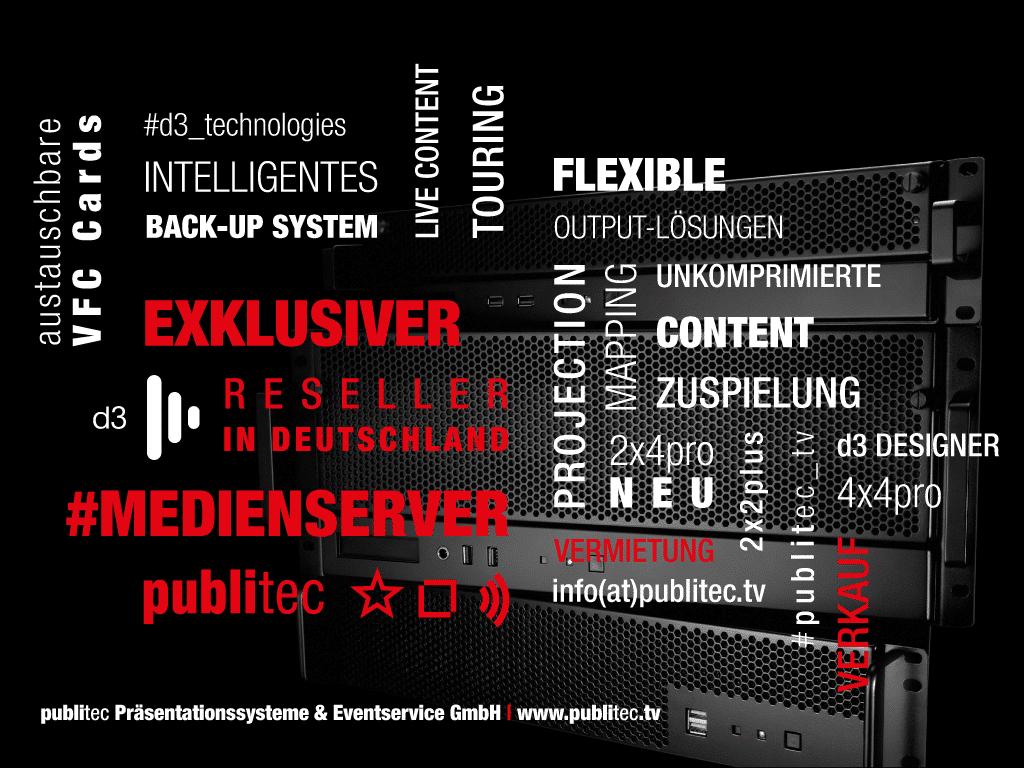 Werbebild von Publitec