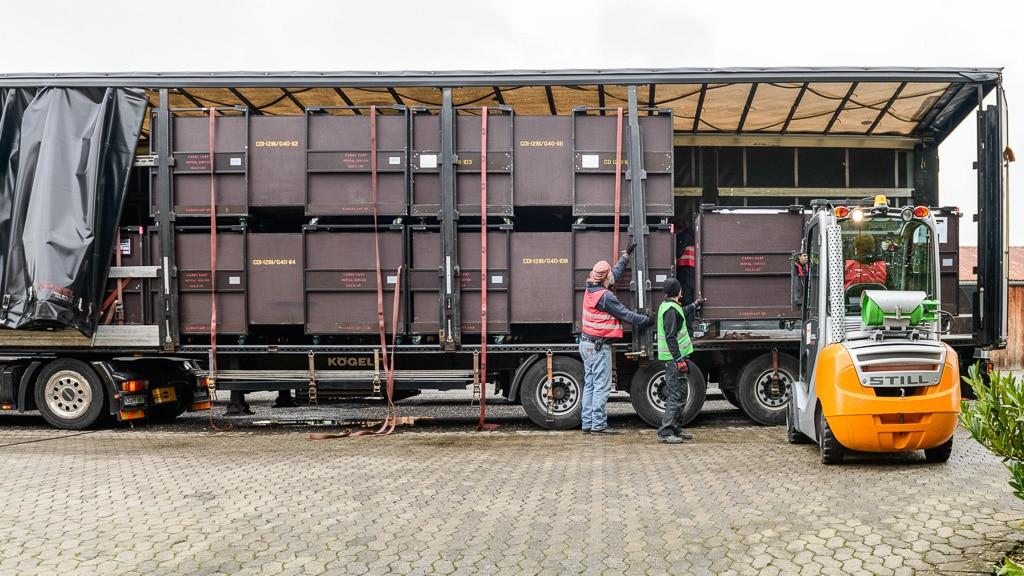Raumauslastung durch Cargo Cart