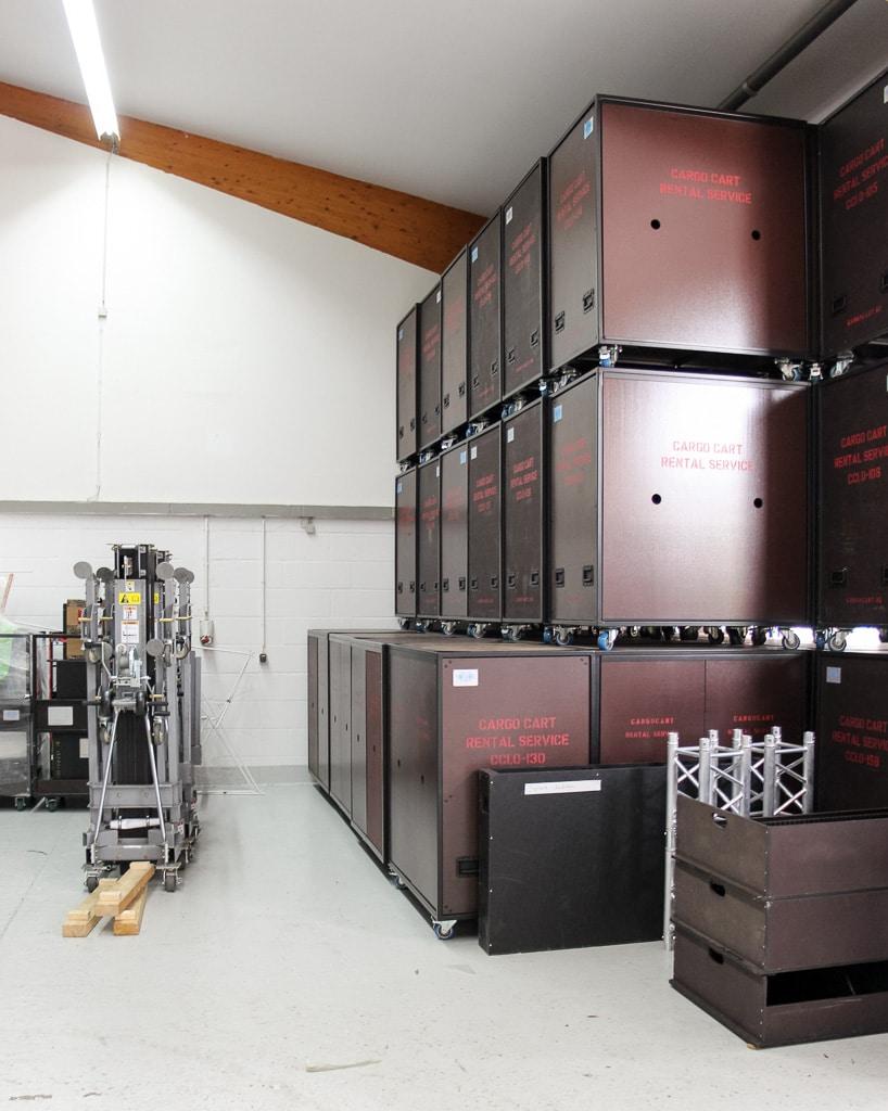 Lagerregale werden durch Cargo Carts ersetzt