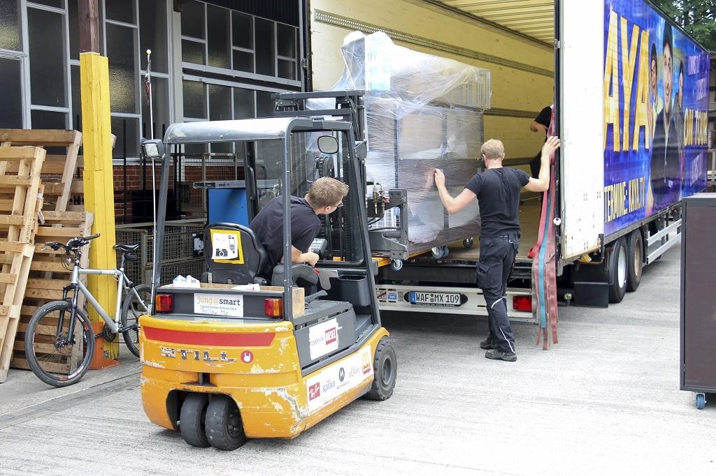 Sicherer Transport mit Cargo Carts