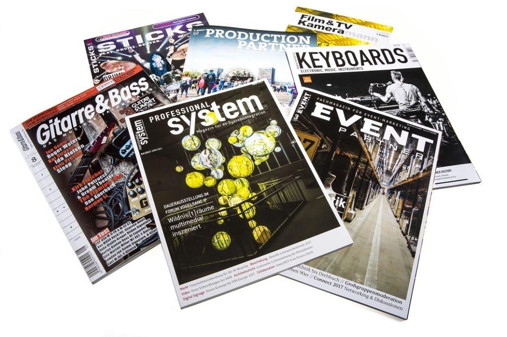 Magazine von Musikmedia