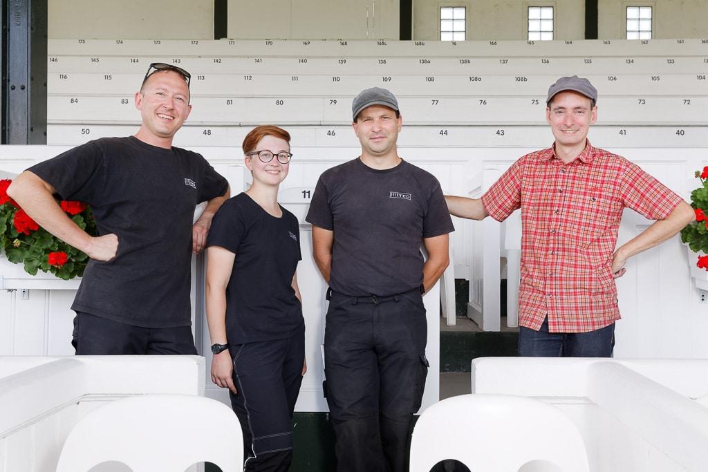Das Evented-Team in Köln