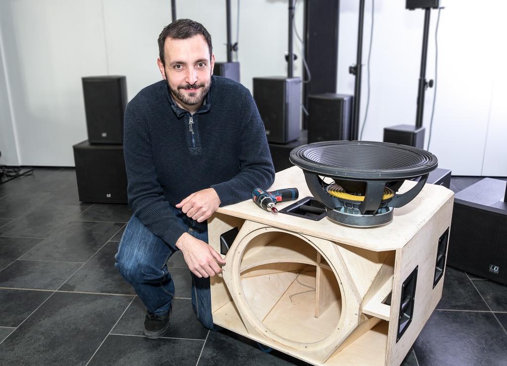 R&D-Ingenieur Martin Jung