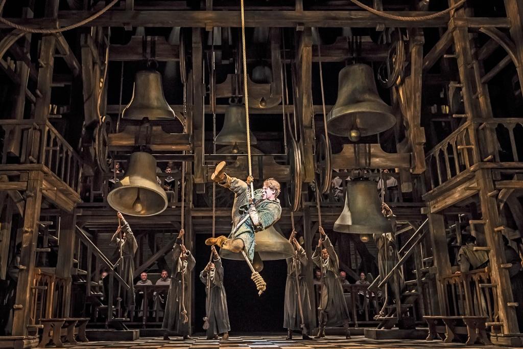 Bühnenbild: Der Glöckner von Notre Dame