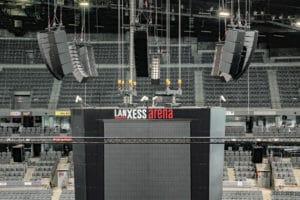 TW Audio VERA 36 in der Lanxess-Arena