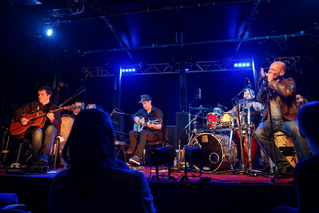 Yapa en concert