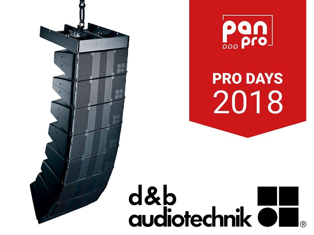 d&b bei den Pro Days 2018