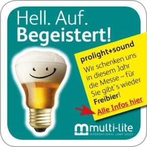 Freibier-Aktion Multi-Lite