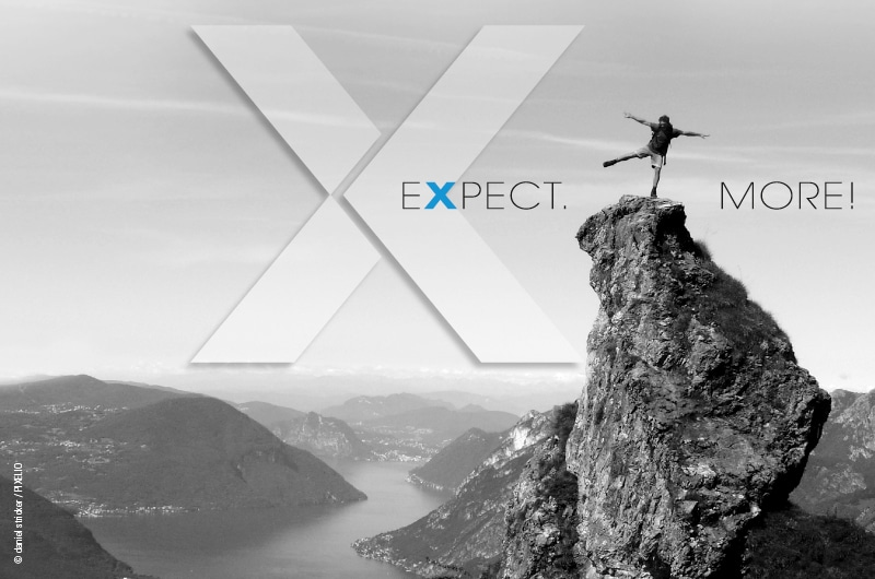 Expect. More