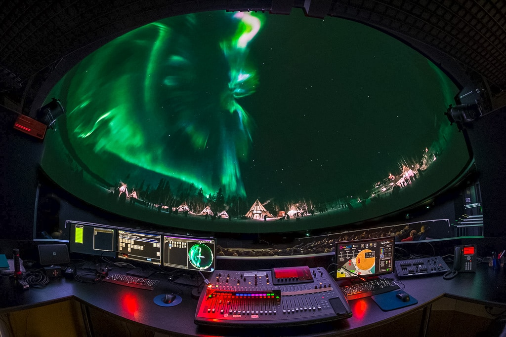 Dome-Projection