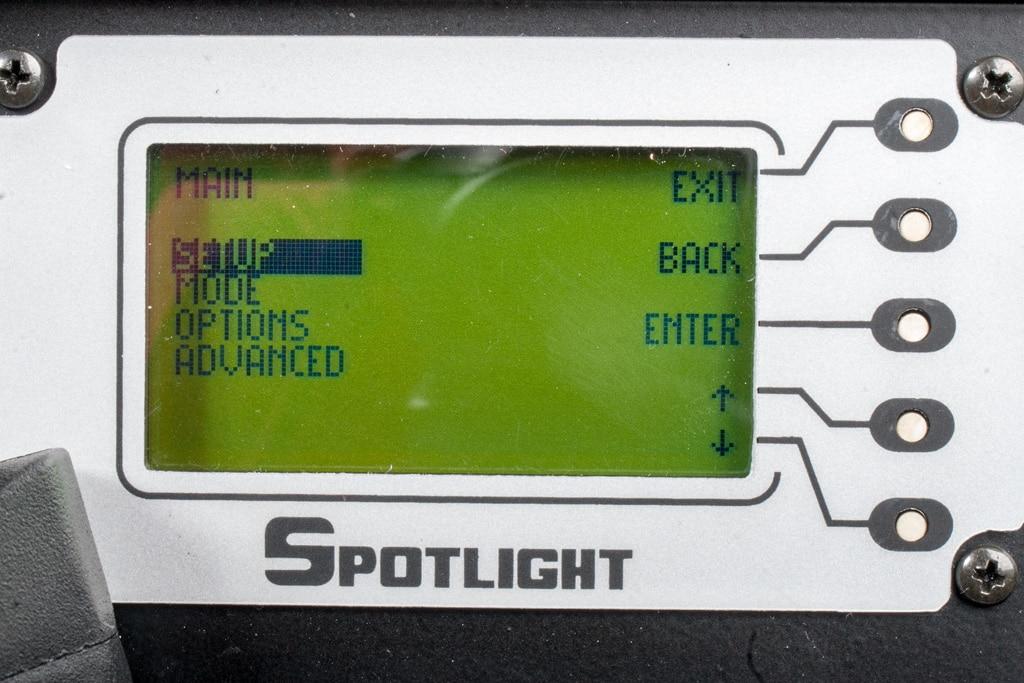 Spotlight FresnelLED 450 DMX