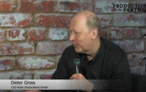 Dieter Gross von Robe Deutschland