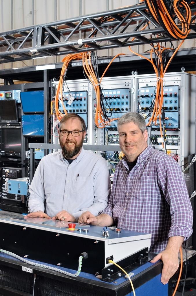 Erik Nelson und Chuck Adomanis