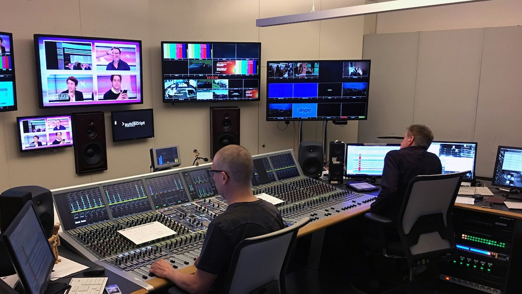 AURUS von Stage Tec bei RTBF in Belgien