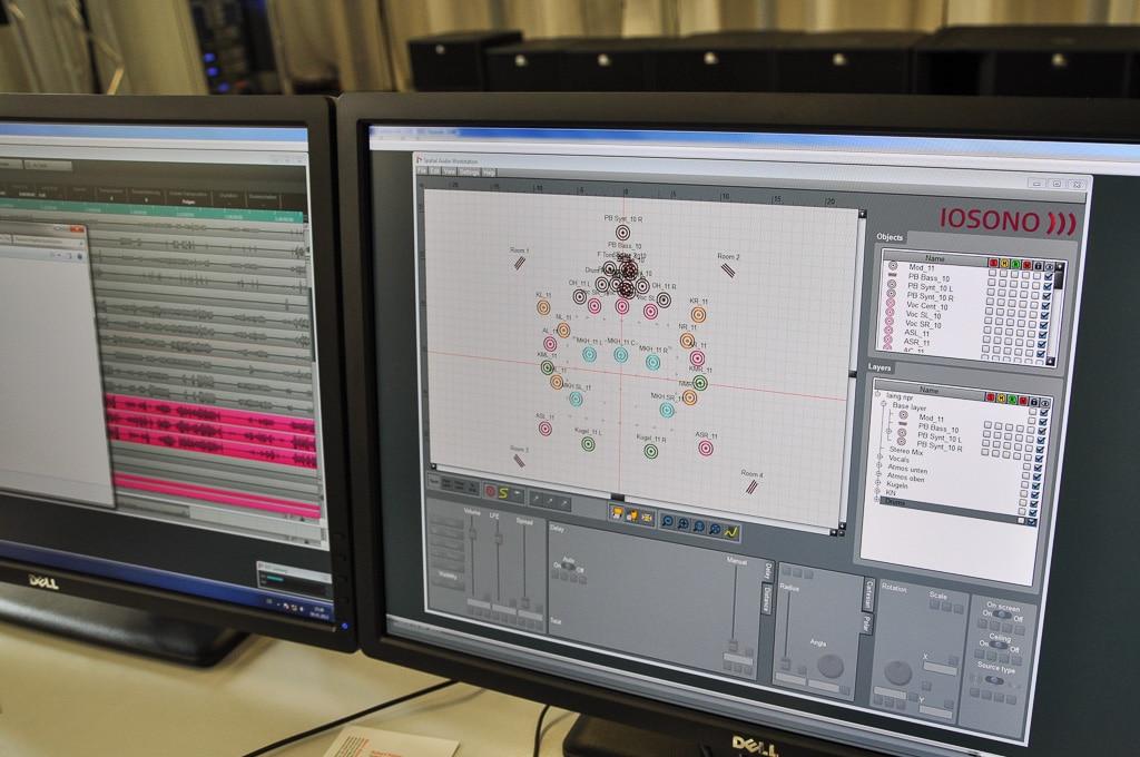 Planungssoftware von Iosono