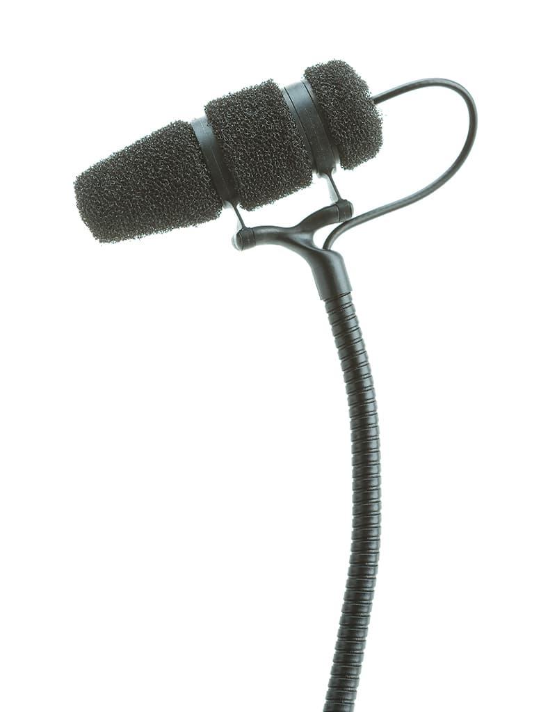 Der Kopf des Instrumentenmikrofons DPA d:vote CORE 4099