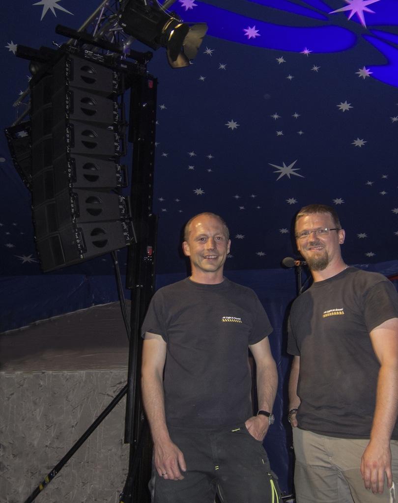 Ralph Kirchbeck und Christian Stadler