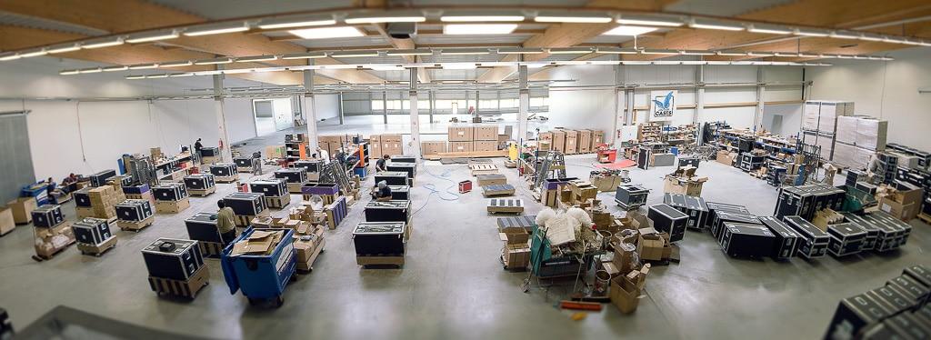 Fertigungsstätte von Amptown Cases in Seevetal bei Hamburg