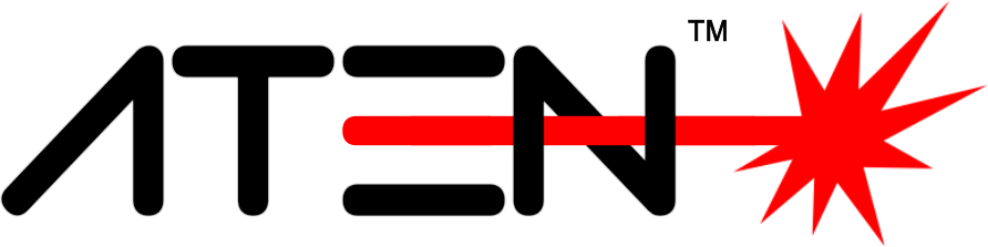 Logo der Firma Atenlaser