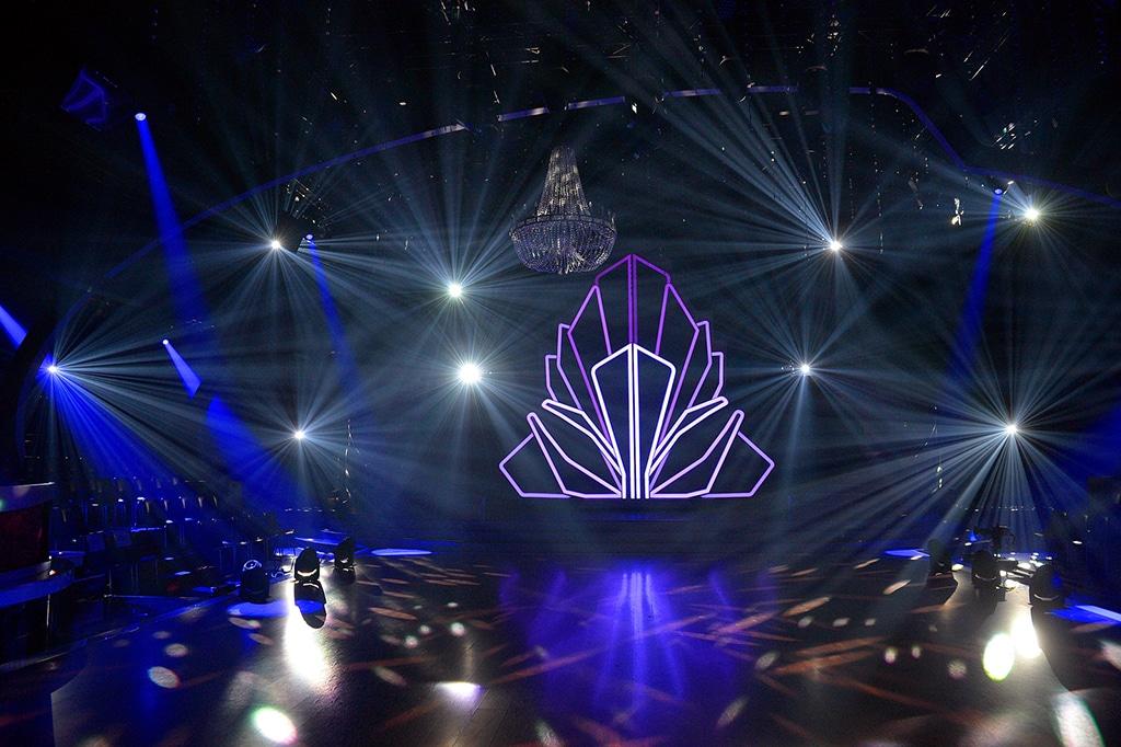 Blick auf die Bühne der Show