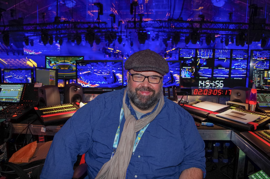 Jerry Appelt, Lichtdesigner des ESC 2018
