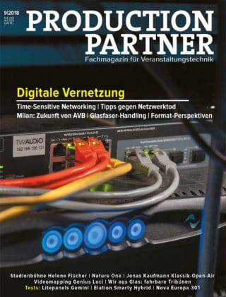 Titel der Production Partner Ausgabe 9-2018