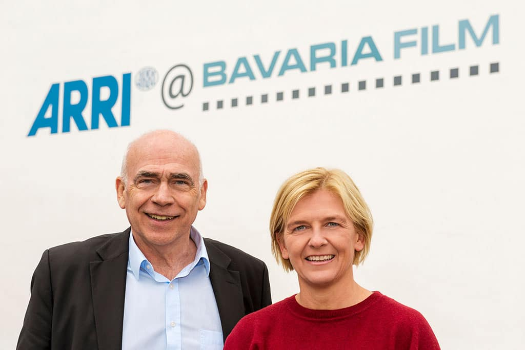 Martin Schwertführer und Renate Scheliga von ARRI Media