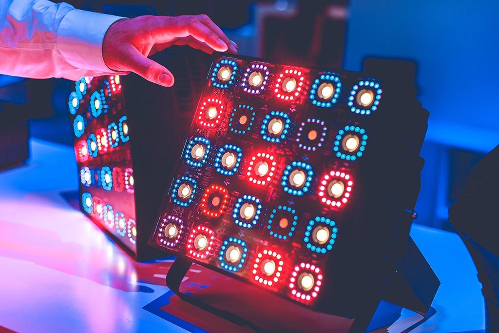 KNV Cube von GLP im Einsatz