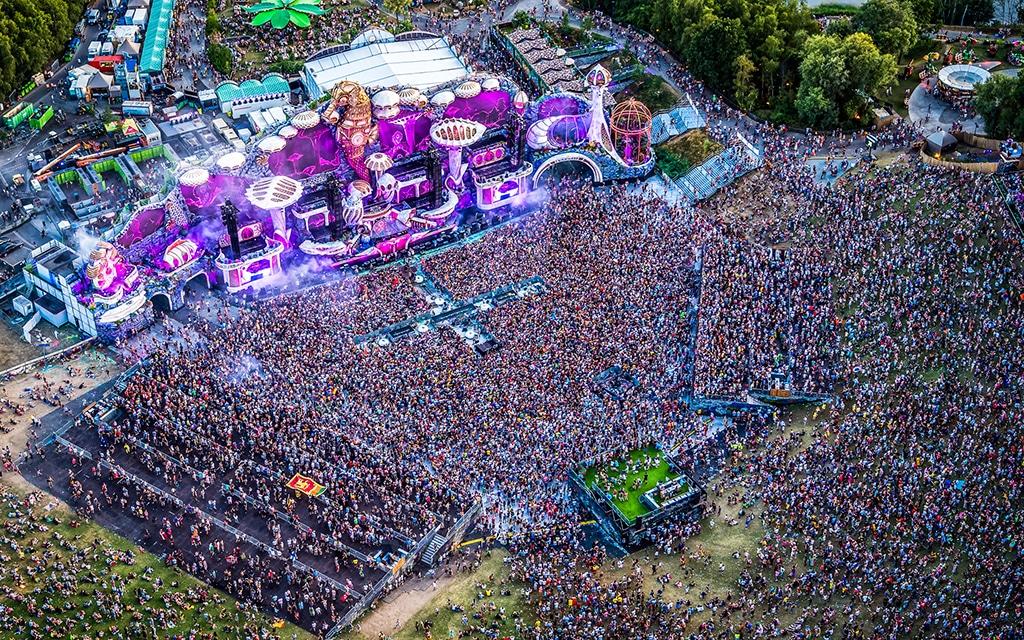 Tomorrowland-Festival 2018 im belgischen Boom