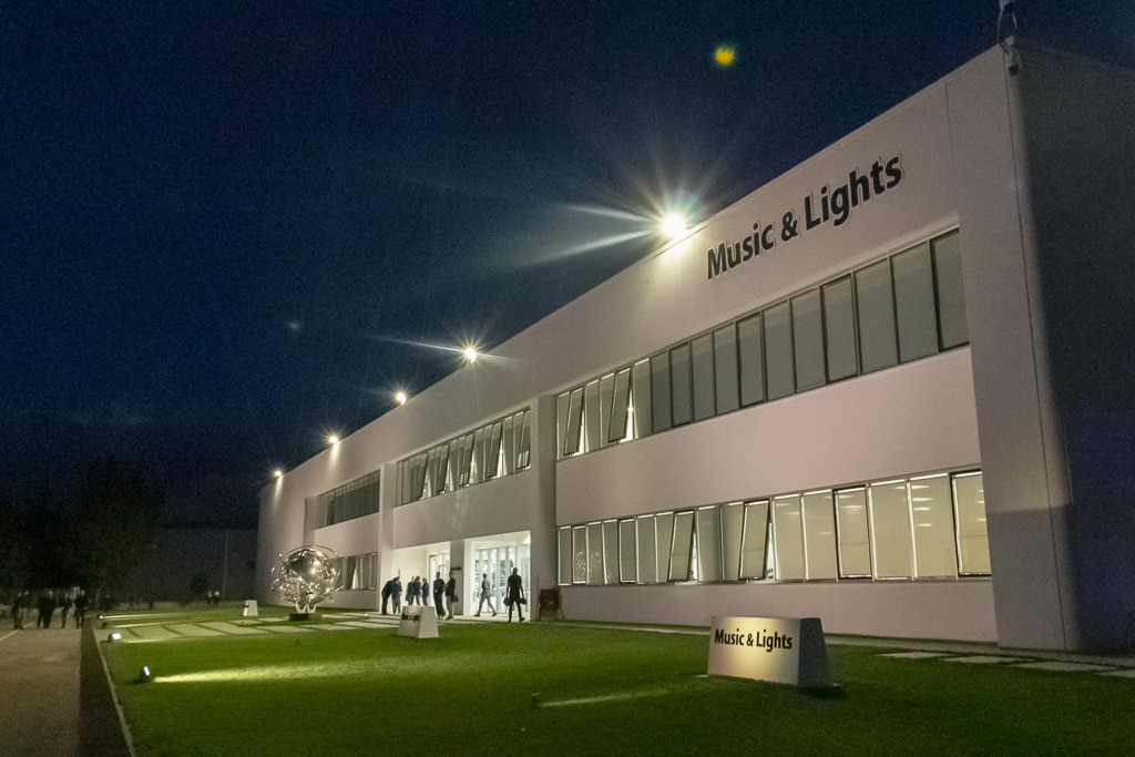 Neues Headquater von Music&Lights in Minturno, Italien