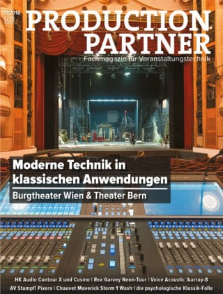 Titel PRODUCTION PARTNER Ausgabe 11-2018