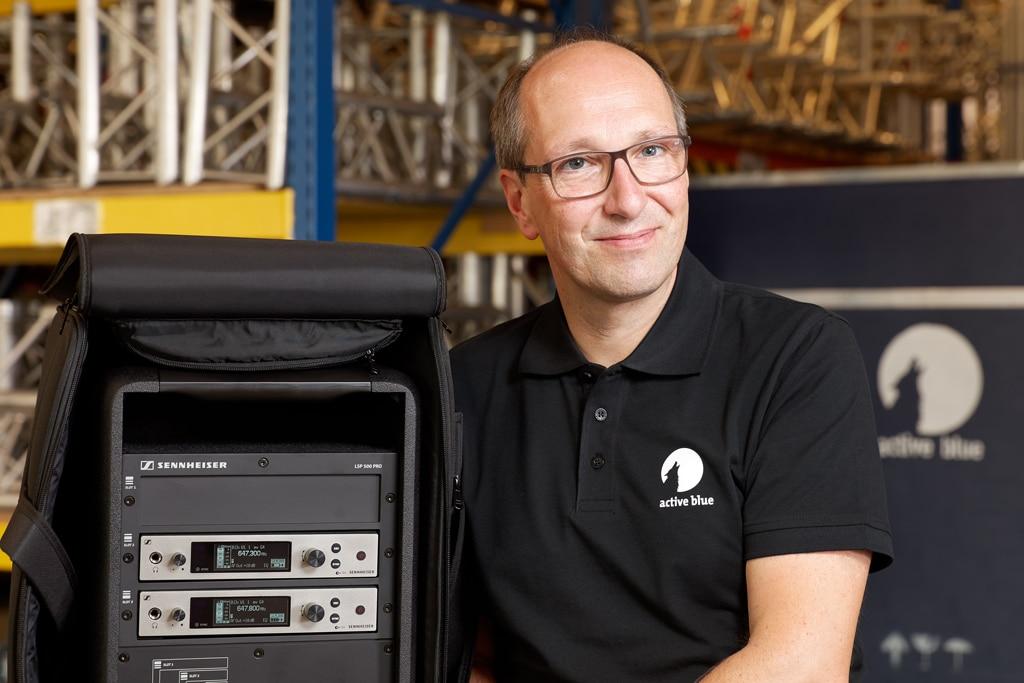 active blue Gründer und Geschäftsführer Andreas Beer