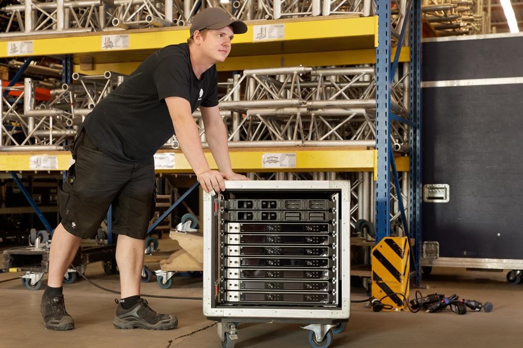 Sennheiser Digital 6000 wireless Empfänger und Ladestreifen