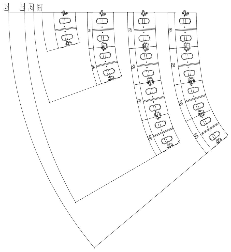 Array-Varianten des Ikarray-8