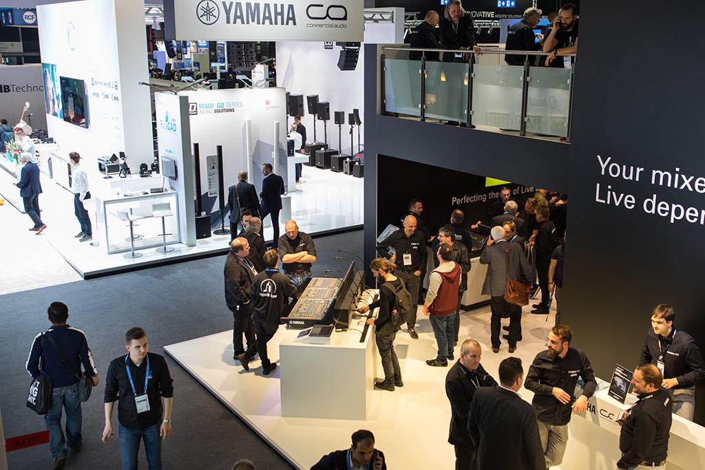 Yamaha auf der Musikmesse und Prolight+Sound