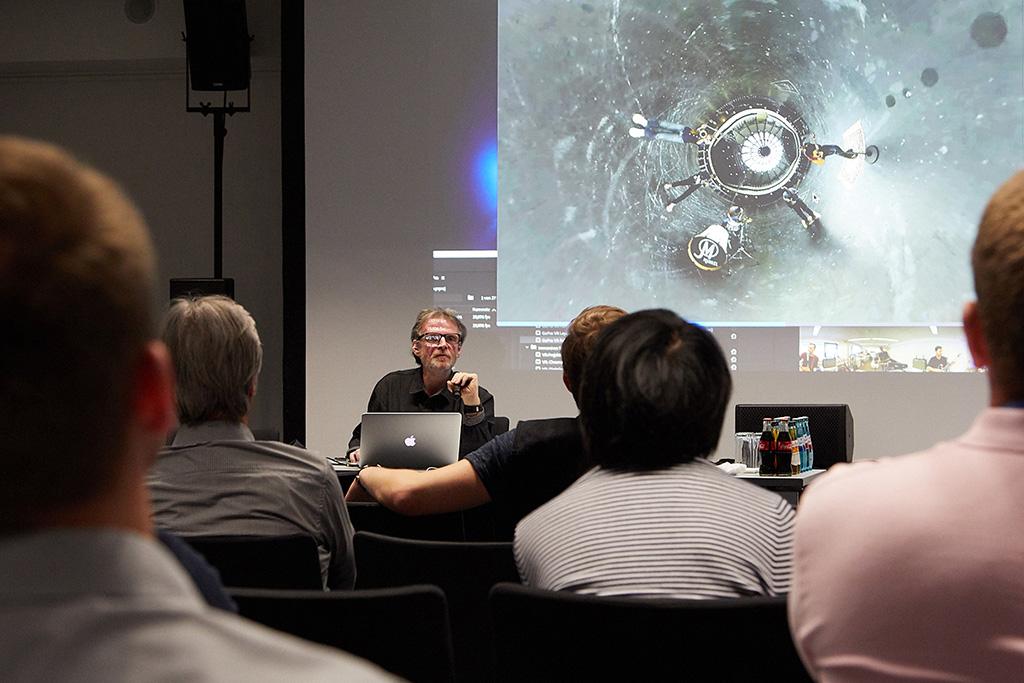 Seminarsituation Prolight and Sound Frankfurt
