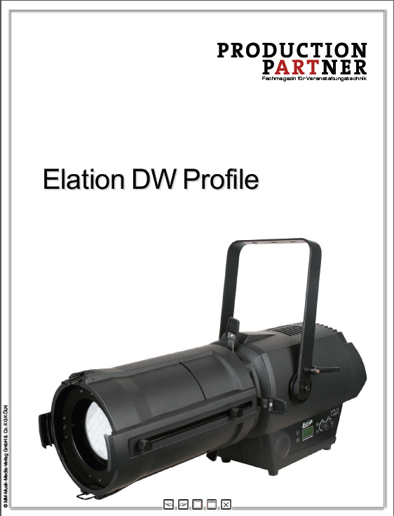 Produkt: Elation DW Profile