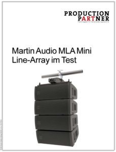 Produkt: Martin Audio MLA Mini