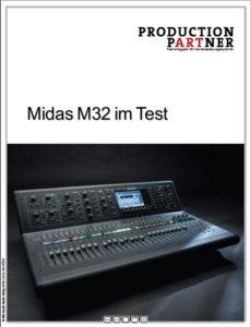 Produkt: Midas M32 im Test