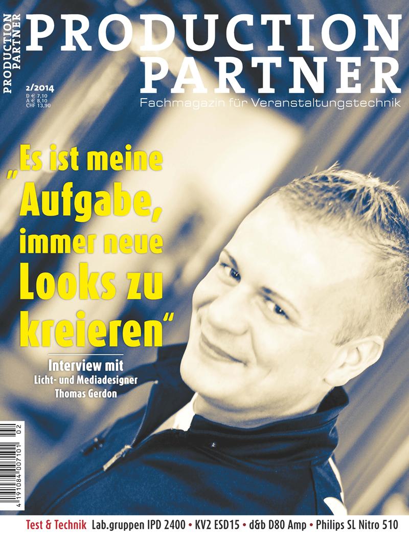 Produkt: Production Partner Digital 02/2014