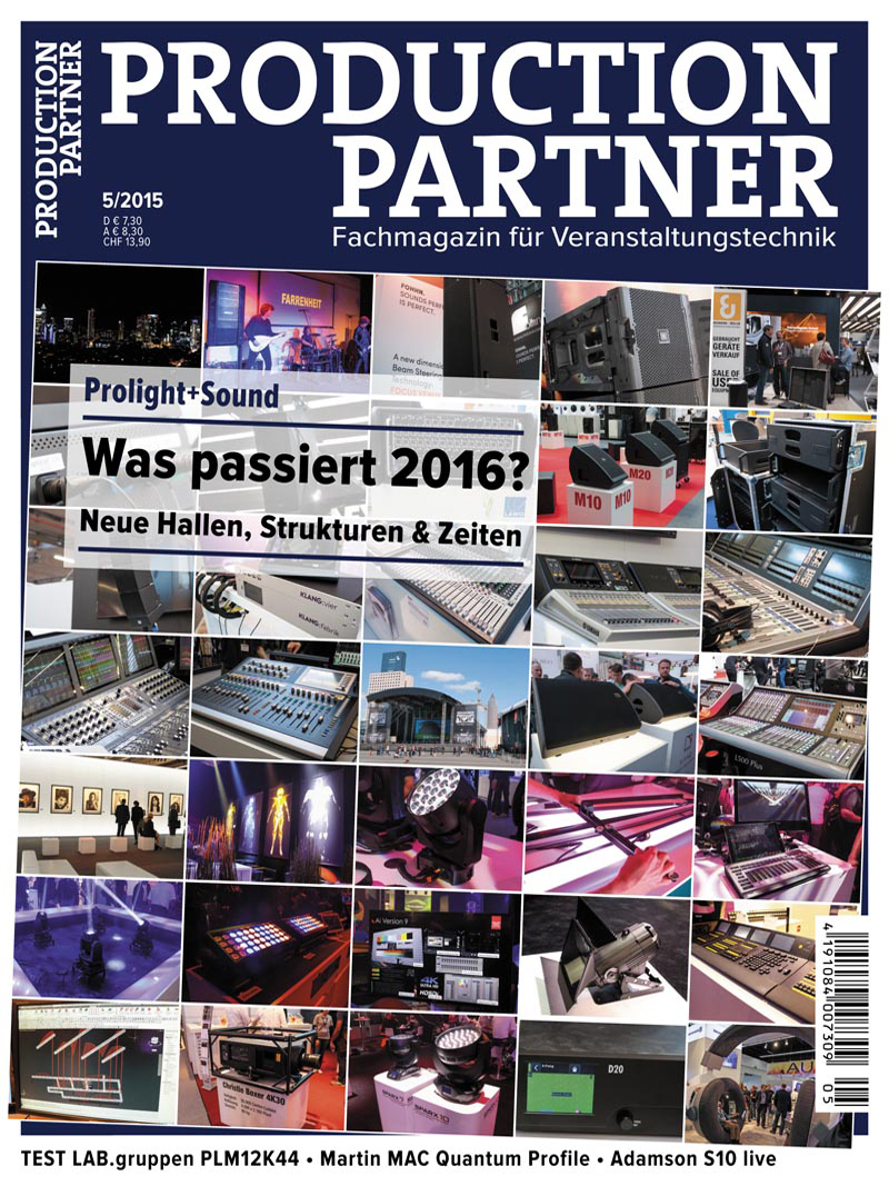 Produkt: Production Partner Digital 05/2015