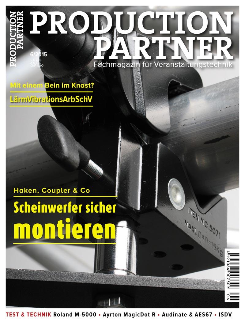 Produkt: Production Partner Digital 6/2015
