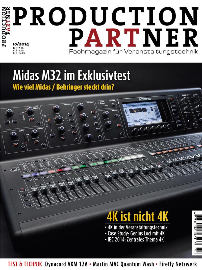 Produkt: Production Partner Digital 10/2014