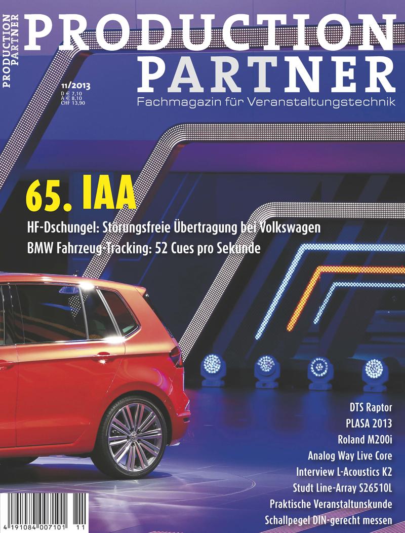 Produkt: Production Partner Digital 11/2013