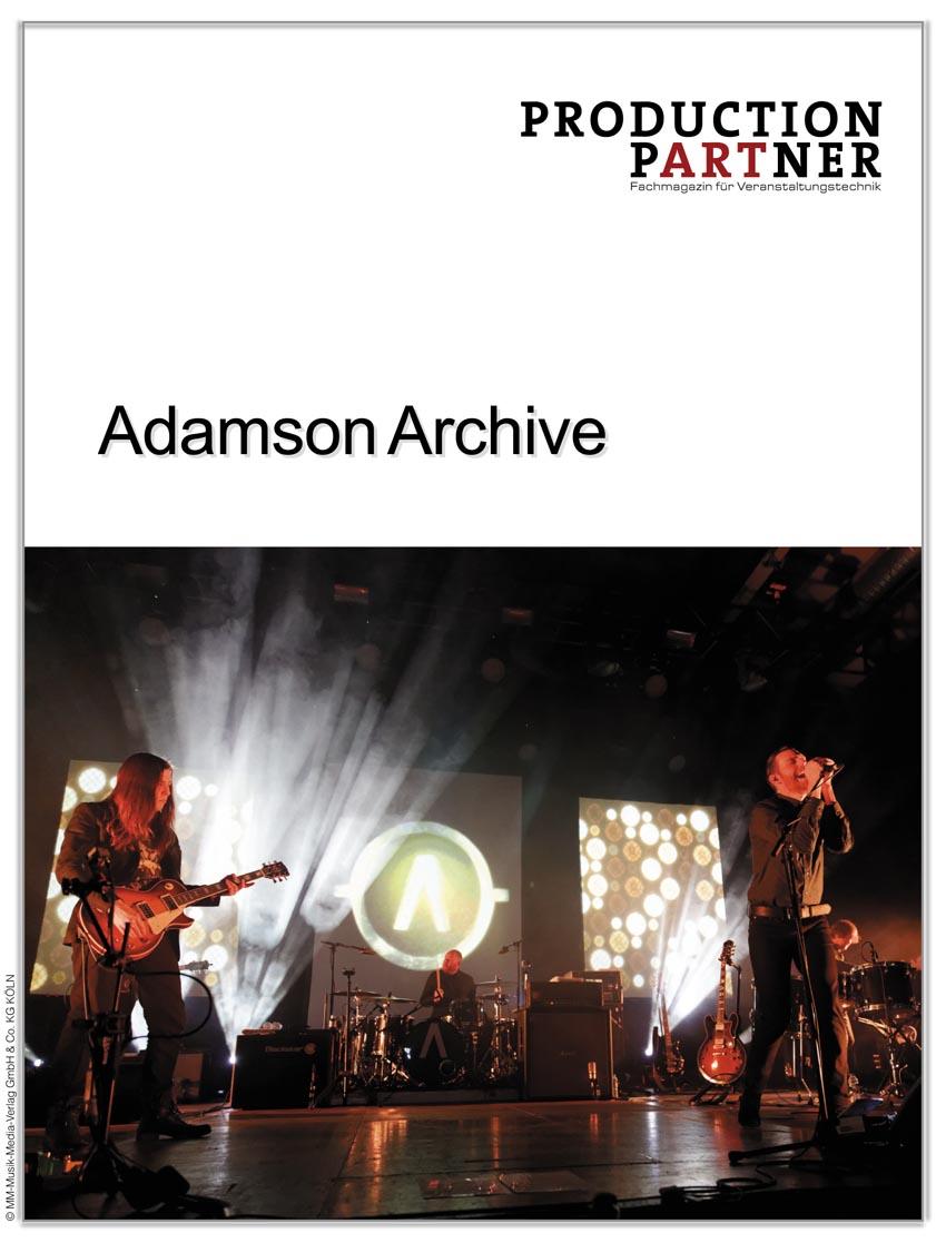 Produkt: Archive Live mit Adamson S10